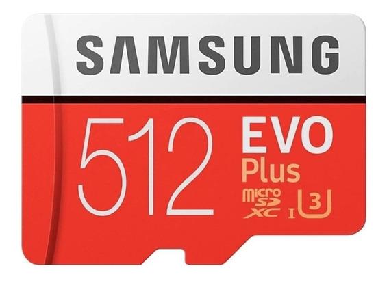 Cartão de memória Samsung MB-MC512GA/EU EVO Plus 512GB