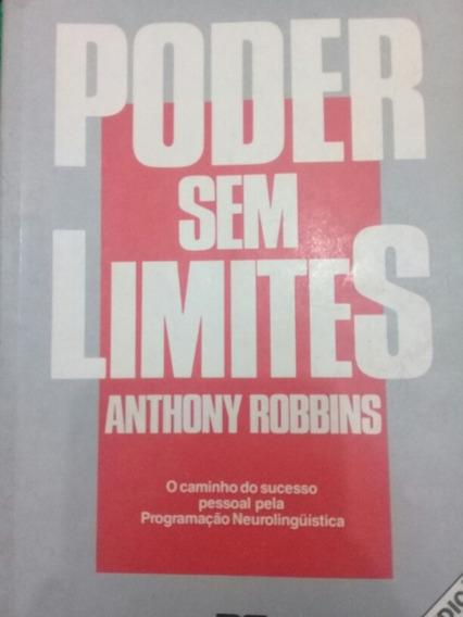 Livro Poder Sem Limites - Anthony Robbins