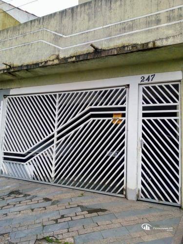 Sobrado Com 3 Dormitórios À Venda, 125 M² Por R$ 595.000,00 - Parque Gerassi - Santo André/sp - So0246