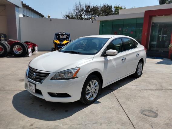 Nissan Sentra Advance 2016 Blanco Mt
