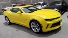 Camaro Rs V6 2017 Color Amarillo Cm7001