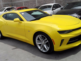 Camaro Rs V6 2017 Color Amarillo Cm7001