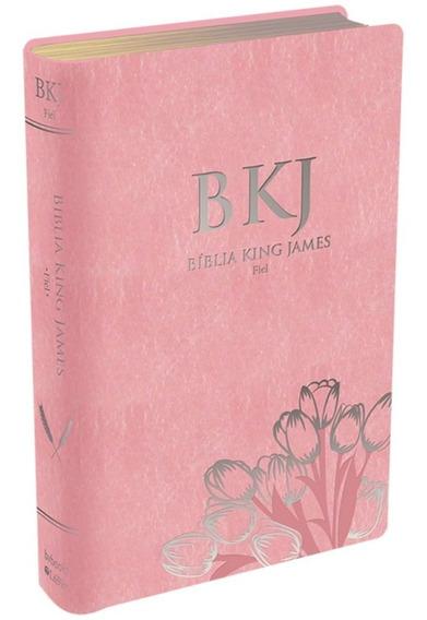 Bíblia Da Mulher King James Palavras Jesus Em Vermelho