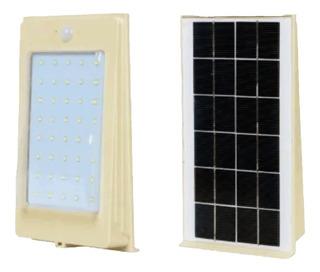 Lampara Solar Led 4w Recargable Con Kit Encendido Automatico
