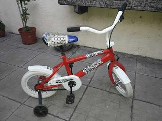 Bicicleta Rodado 12 Hombre Araña. Sin Rueditas De Apoyo