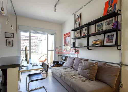 Studio Com 1 Dormitório À Venda, 30 M² Por R$ 410.000 - Vila Buarque - São Paulo/sp - St0330