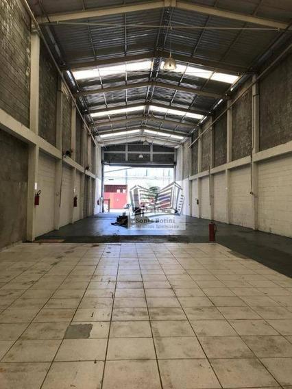 Galpão Para Alugar, 500 M² Por R$ 12.000/mês - Mooca - São Paulo/sp - Ga0143
