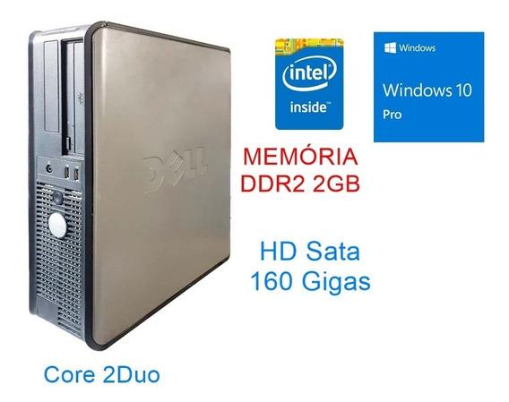 Cpu Desktop Dell Intel Core2 Duo E Windows 10 Pro