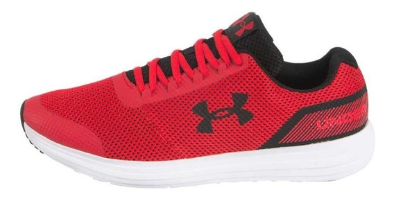 Tenis Under Armour Ua Surge Rojo-negro