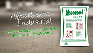 Material Absorbente Industrial Diatomea Granular X 20kg.