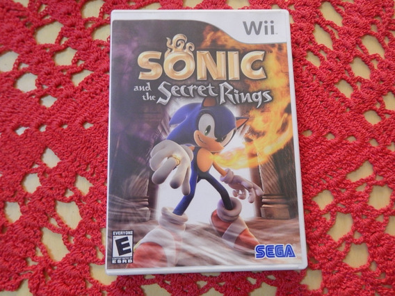 Sonic And The Secret Rings Wii Wiiu