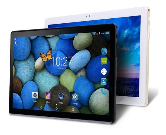 Tablet Quad Core 2.5d Polegada Ouro - Dourado
