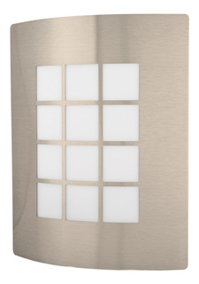 Luminaria De Pared Decorativa Acero Inoxidable Exterior
