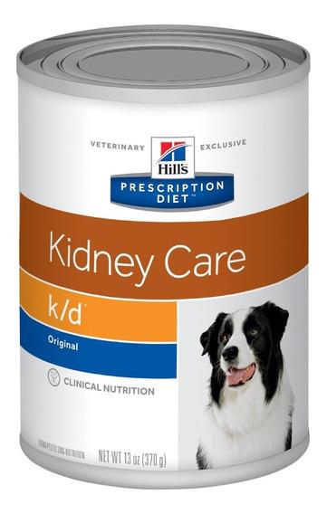 Ração Hills Canine Prescription Diet K/d Lata - 370gr