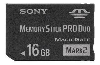Tarjeta De Memoria Sony Memory Stick Pro Duo 16gb