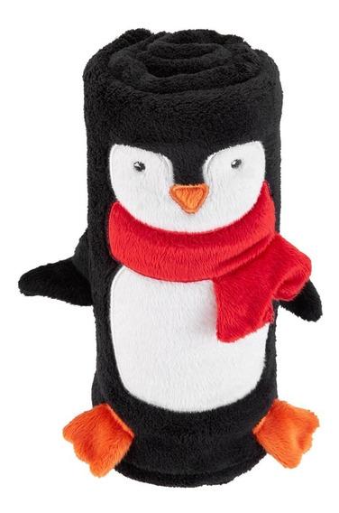 Manta Pinguim 76cmx76cm Carters - Novo E Original