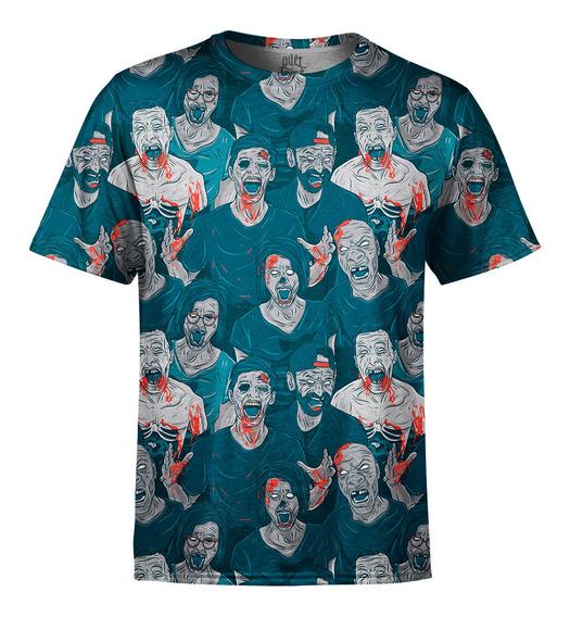 Camiseta Masculina Zumbis Digital