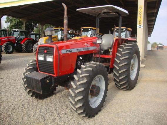 Trator Mf 283 Advance Plataformado 4x4