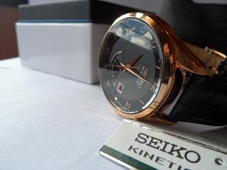 Reloj Seiko Srn054 Kinetic Original
