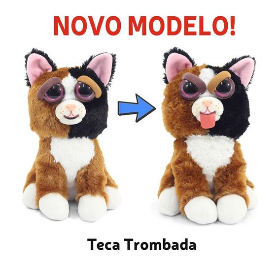 Pelúcia Feisty Pets Teca Trombada Original