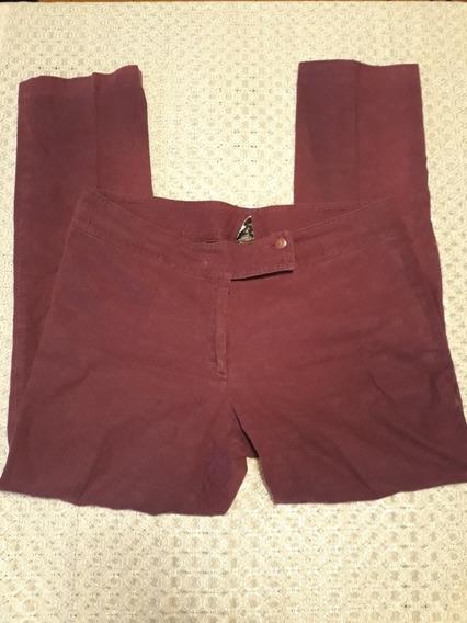 Pantalon De Tela Para Dama Usado