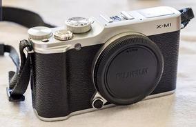 Câmera Fuji X-m1 Novissima.