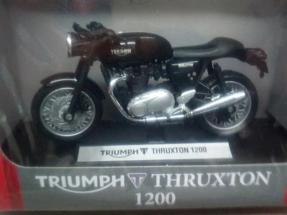 Colecc. Motos De Leyenda Triumph Thruxton 1200. Esc. 1/18