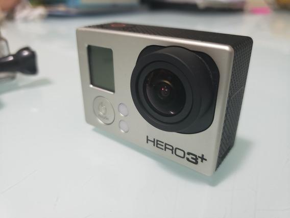 Gopro Hero3+ Black Editon. Filma Em 4k. Câmera Sem Detalhes.