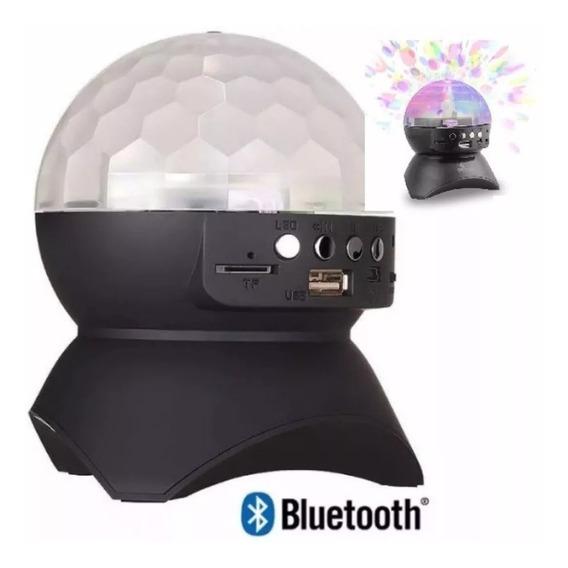 Caixa De Som Globo Bluetooth Led Dj Usb Fm Exbom Cs-a24bt