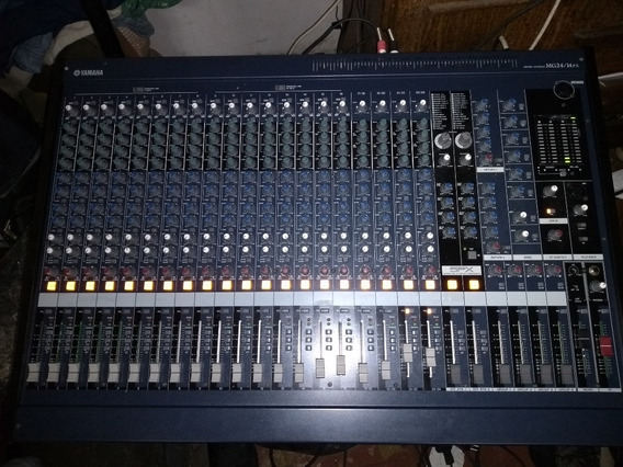 Mesa De Som Yamaha Mg 2414fx