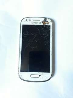Samsung Galaxy S3 Mini Ve Gt-i8200 8gb - Tela Trincada Peças