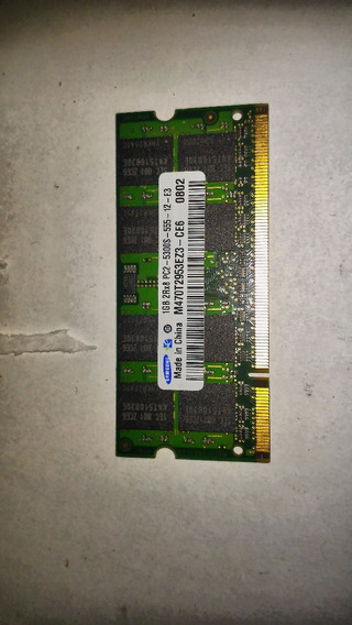Pente Memoria 1gb Ddr2 Pc2 5300s Samsung