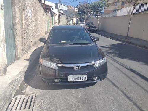 Imagem 1 de 15 de Honda Civic 2008 1.8 Lxs Flex Aut. 4p