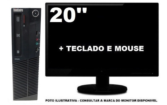 Lenovo Thinkcentre M92 Intel Core I3 8gb 240ssd
