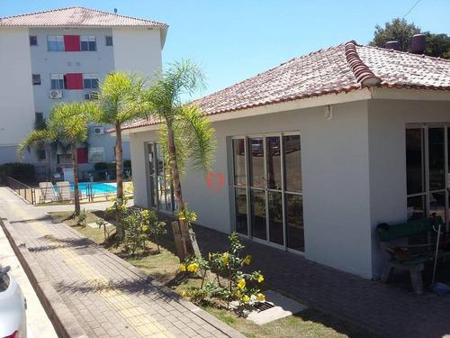 Apartamento Com 2 Dormitórios À Venda, 47 M² Por R$ 170.000 - Passo Das Pedras - Gravataí/rs - Ap0610