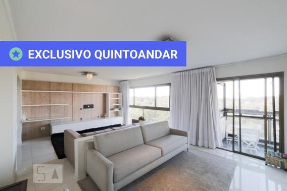 Apartamento No 14º Andar Mobiliado Com 3 Dormitórios E 2 Garagens - Id: 892948492 - 248492