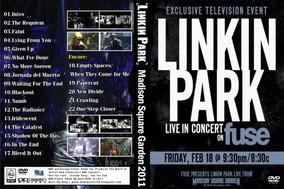 Dvd Linkin Park Madison Square Garden 2011