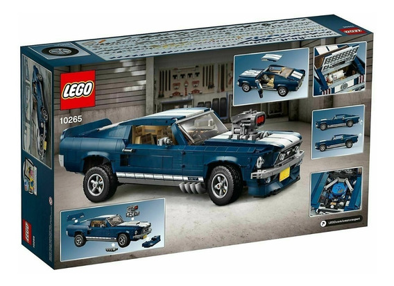 Lego Mustang Fastback 10265 Completo Novo Importado Ford 302