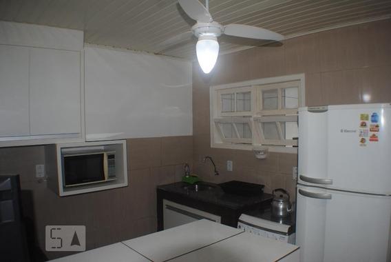 Apartamento Térreo Mobiliado Com 1 Dormitório E 1 Garagem - Id: 892954477 - 254477