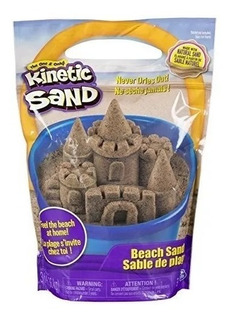 Kinetic Sand The One And Only, 3lbs Beach Sand For Ages 3 An
