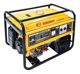 Banmotors Grupo Electrogeno Generador Electrico Naftero 6,5 Kva Llave