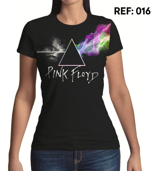 Camiseta Feminina, Pink Floyd, Rock N Roll Banda Musica