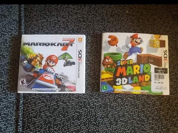 New Mario 3d Land E Mário Kart 7