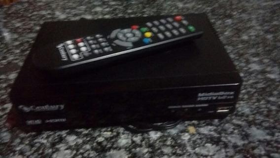 Antena Parabólica Monoponto Com Receptor Midiabox Century