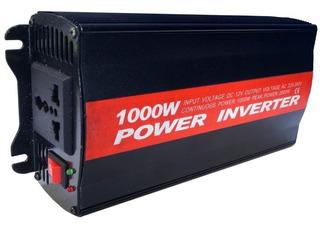 Inversor Tensão 1000w 12v P/ 220v Conversor Tomada Incluso