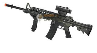 Rifle De Airsoft Colt M4a1 Ris Aeg - Cal 6,0mm - Cybergun