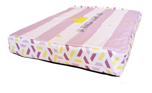 Imagen 1 de 5 de Cama Colchoneta Diseño Impermeable 50x60 Espuma Princesa