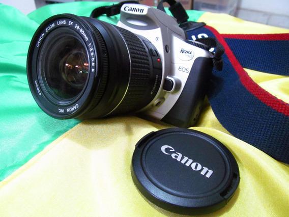Câmera Fotográfica Canon Eos 300 Rebel 2000 Analógica, Usada