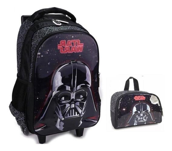Kit Mochilete Star Wars+lancheira 33056 Original