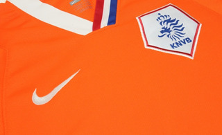 Camisa Original Holanda Euro 2008/2009 Home Authentic